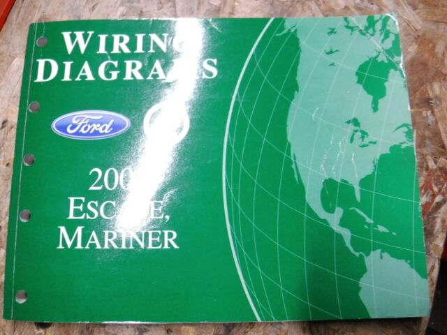 2008 Ford Escape Mercury Mariner Factory Wiring Diagrams