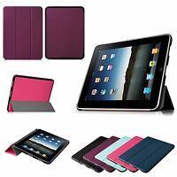For Apple Ipad 1 1st Generation Super Slim Lightweight Leather Stand Case Cover