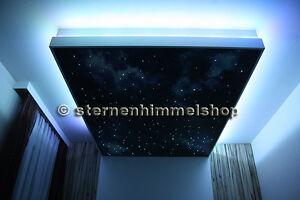 3w rgb led sternenhimmel 200 lichtfaser glasfaser optik 16 farben dimmbar ebay. Black Bedroom Furniture Sets. Home Design Ideas