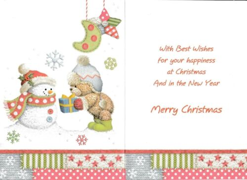 cute GRANDSON/'S VERY 1ST CHRISTMAS grandson it/'s your first christmas card
