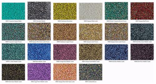 10 Grams 2.5x6mm Czech Mini Dagger Glass Beads Pick the Color
