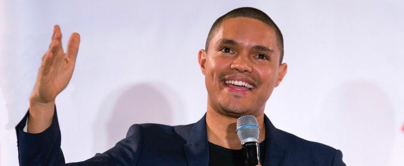 PARKING PASSES ONLY Trevor Noah