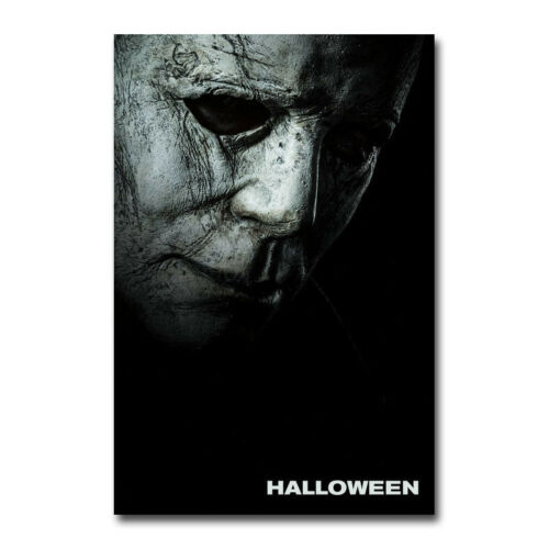 Halloween Michael Myers Hot Movie Art Canvas Poster 8x12 24x36 inch