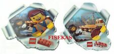 LEGO The Movie Accessory: Emmet & Wildstyle 3D Hologram Promo Card Sticker NEW
