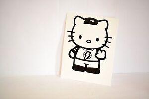 Hello-Kitty-Sheldon-Big-Bang-Theory-Precision-Cut-Vinyl-Decal-Choose-Your-Color