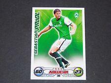 PRÖDL WERDER BREMEN TOPPS MATCH ATTAX PANINI FOOTBALL BUNDESLIGA 2009-2010