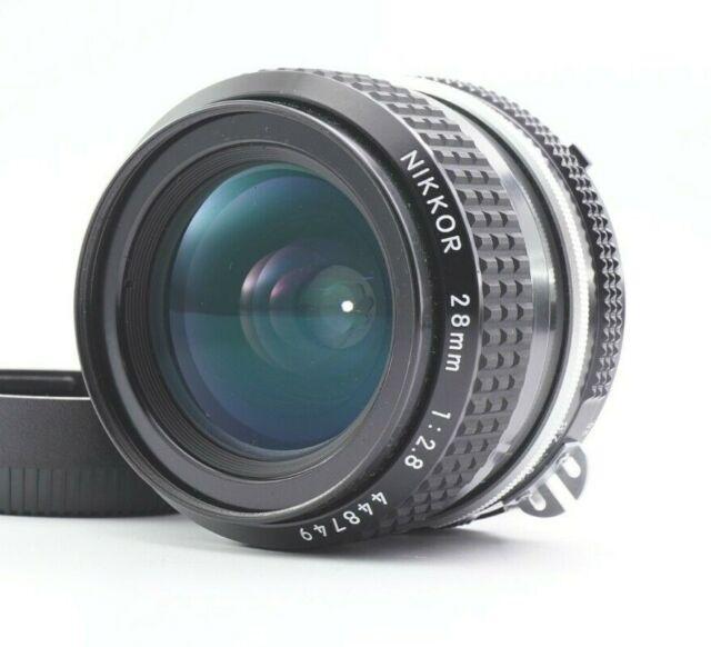 NEAR MINT Nikon AI Nikkor 28mm f/2.8 MF Weitwinkel Lens aus Japan