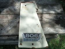 Ih Farmall 806 Wheatland Tractor Left Radiator Panel
