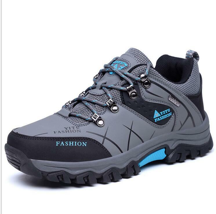 2052a7d22b4 Men shoes Plush Warmth Winter Climbing Non-slip Training Sport Boots Cool  Sbox14