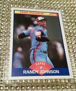 1989 Score Randy Johnson RC #645 NM+1-OWNER Expos Seattle Arizona