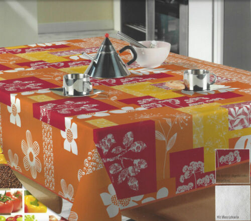 Wachstuch Tischdecke abwischbar 12 Farbmuster rund 140x140 eckig 110x140