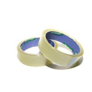 Ultratape-Clear-Cellotape-Sticky-Tape-Parcel-Present-18mm-x-40m-Twin-Pack