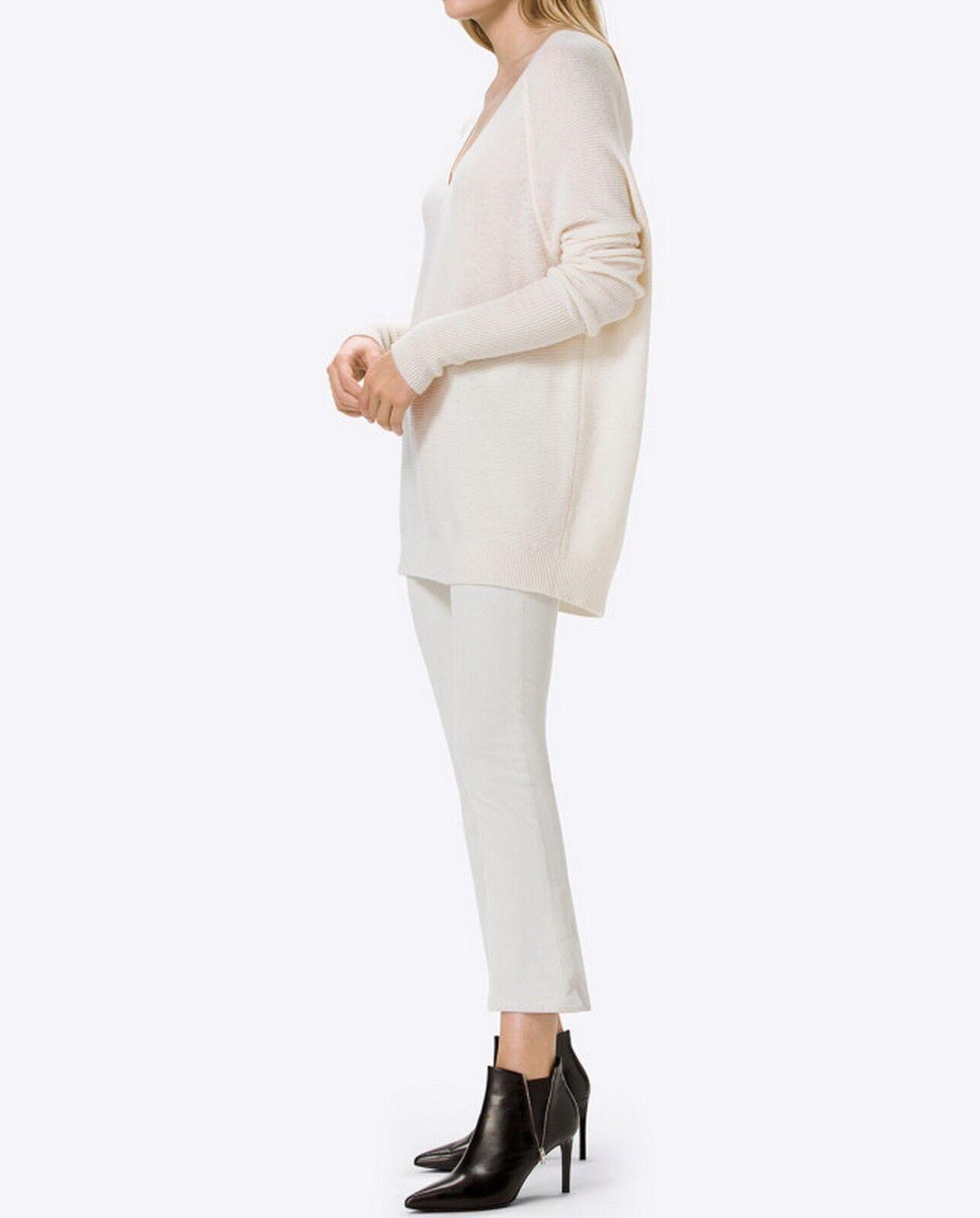 NWT J Brand Selena Corduroy Mid Rise Pants, MOONBEAM, SIZE 30,  198 retail