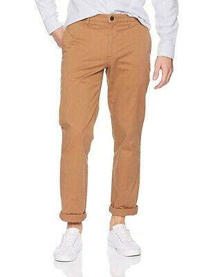 Goodthreads Mens Slim-Fit Washed Stretch Chino