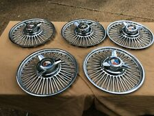 Ford Mustang Falcon Fairlane Wire Spoke Hubcaps 1963 1964 1965 Pick 1 Or More