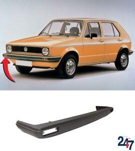 Nuevo-Volkswagen-Golf-MK1-1974-1993-Bare-llanura-cubierta-de-parachoques-delantero-con-reforzador