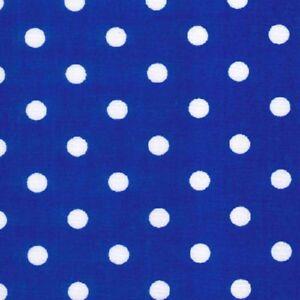Blue And White Polka Dot Border