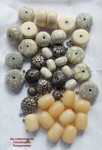 Enthousiaste Perles Resine Intercalaires Metal Montez Vous Meme Votre Sautoir RafraîChissement