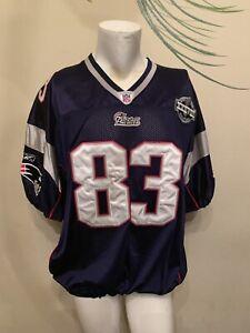 Deion Branch Authentic Super Bowl XXXVI New England Patriots NFL ...