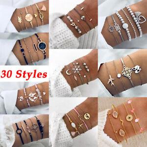 bracelet-fixe-bracelet-de-reglable-perles-de-cristal-bowknot-carte-du-monde