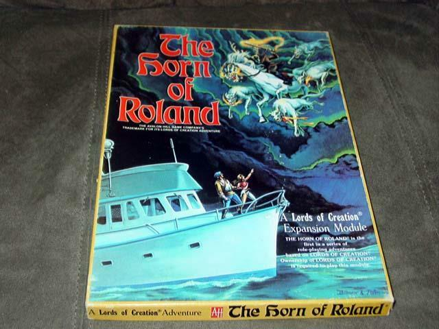 Avalon Hill 1984 - The Horn  of Role - A Lords of Creation Expansion Module  è scontato