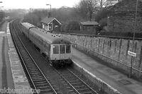 British Rail Derby built DMU Chapeltown South Yorks Rail Photo