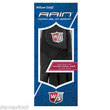 A PAIR OF WILSON MENS RAIN GOLF GLOVES. SIZE LARGE.