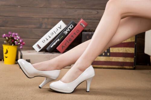 Brautschuhe Pumps weiß ivory 8 cm Hochzeit High Heels Schuhe Braut Damenschuhe