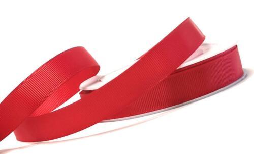 Ripsband 25m x 15mm Schleifenband Geschenkband Dekoband #Farbwahl 1m//0,12€