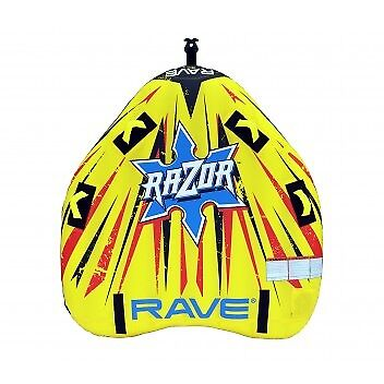 New Rave Sports 02826 Cutter 2 Rider Inflatable Towable Tube