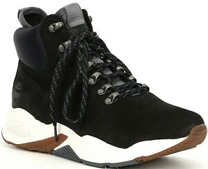 Details about Womens Timberland Delphiville Sneaker Boot Black Nubuck [TB0A23FV 015]