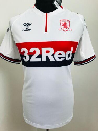 Middlesbrough FC Football Shirt Away Soccer Jersey 2019//20 Hummel Size XL