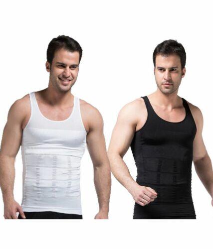 Slim N Lift Body Shaper Slimming T-Shirt Vest for Men Undershirt Slimwear Lot