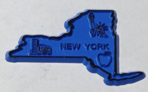 NEW YORK STATE MAGNET REFRIGERATOR RUBBER NEW