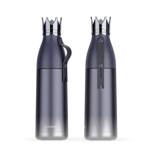 Couronne en acier inoxydable bouteille d/'eau enfant Tasse Voyage bouteilles vide thermos