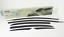 Smoked Black Window Vent Visor Rain Sun Guard 6Pcs Ems Track# for KIA Forte 2019