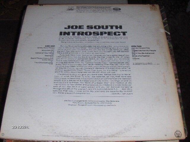 LP, JOE SOUTH, INTROSPECT