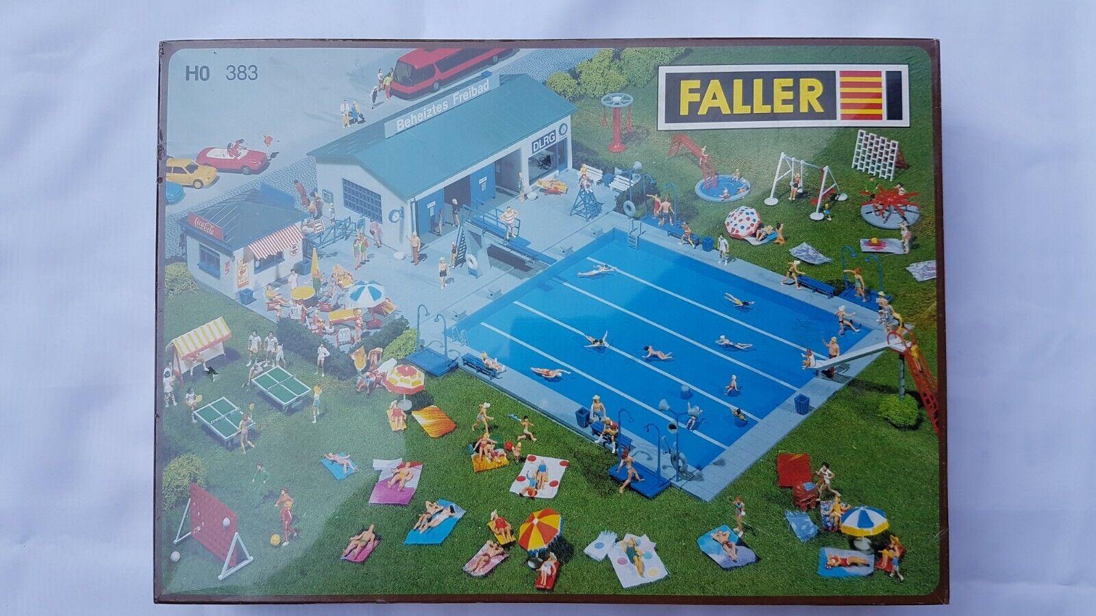 Faller h0 383 piscina pubblica in funzione OVP