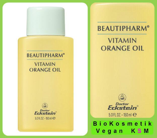 Vitamin Orange Oil 150 ml für Körper und Dekolleté von Dr. Eckstein BioKosmetik