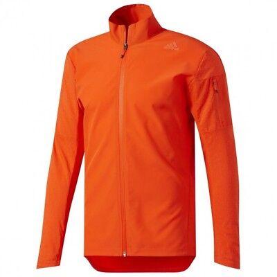 adidas Performance Men's Climastorm Jacket ENERGY MENS SIZE LARGE ORANGE | eBay