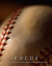 Baseball Motivational Poster Art Print 11x14 Shoes Gloves Little League  MVP377