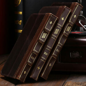For-Samsung-Galaxy-Phones-Retro-Leather-Vintage-Book-Flip-Wallet-Card-Case-Cover