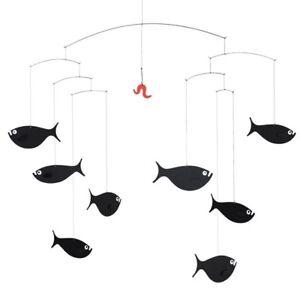 Flensted Mobiles Mobile Fischschwarm
