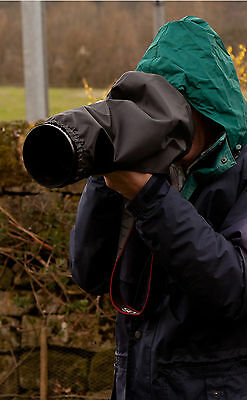 Budget Rain Cover fits Sigma 120-400 with any Camera Black