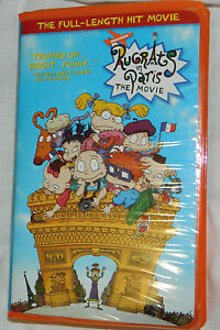 Classic Rugrats in Paris (VHS, 2001) with Clam Shell Ca