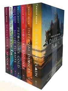 Mortal-Engines-Collection-Philip-Reeve-7-Books-Set-Pack-New-Children-Trilogy