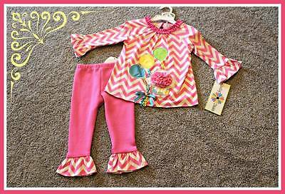 Counting Daisies Birthday Set Rare Editions Outfit Baby Girl 18 24 months NWT