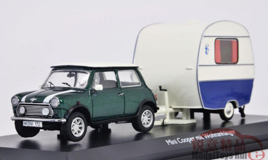 1 43 schuco mini cooper camping car druckguss - modell