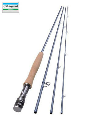 NUOVO Shakespeare Agility 2 Fly Fishing Rod 11 FT #6 4pc 1407180 ca. 3.35 m