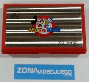 Juego electronico LCD, Game & Watch Mickey & Donald, DM-53, Nintendo.